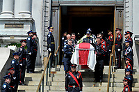 Montreal CANADA - June 22,2105.<br /> <br /> Official funerals of Montreal former Mayor Jean Dore, celebrated at City Hall, June 22, 2015.
