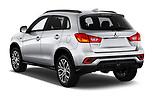 Car pictures of rear three quarter view of a 2018 Mitsubishi Outlander Sport SEL 5 Door SUV angular rear