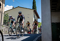 airborn at a crazy fast descent mid-race<br /> <br /> 104th Giro d'Italia 2021 (2.UWT)<br /> Stage 12 from Siena to Bagno di Romagna (212km)<br /> <br /> ©kramon