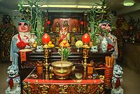 Ma Tsu Temple, a Taoist Temple, Chinatown, San Francisco, California, USA.