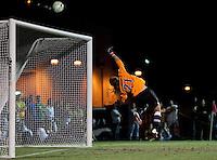 Boca Raton, FL - April 23, 2011: Boston Breakers vs magicJack at the FAU Soccer Field. magicJack defeated Boston Breakers 1-0