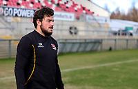 18th March 2021;  Sean Reidy during Ulster Rugby Captain's Run held at Kingspan Stadium, Ravenhill Park, Belfast, Northern Ireland. Photo by John Dickson/Dicksondigital