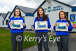 Students from Castleisland Community College 2021 graduation class. L to r: Gemma Burke, Niamh Brosnan and Laura Twomey.