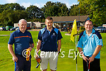 Sean Kelly, Damian Fleming and Jason O'Connor Killarney at the Deerpark P+P Scrathplay Championship on Sunday