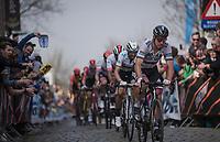 Peter SAGAN (SVN/BORA-Hansgrohe)  up the Oude Kwaremont<br /> <br /> 103rd Ronde van Vlaanderen 2019<br /> One day race from Antwerp to Oudenaarde (BEL/270km)<br /> <br /> ©kramon