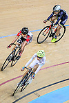 Tam Sze Hang of team X SPEED (r) competes during the Elimination Open Final Track Cycling Race 2016-17 Series 3 at the Hong Kong Velodrome on February 4, 2017 in Hong Kong, China. Photo by Marcio Rodrigo Machado / Power Sport Images