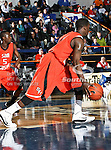 Sam Houston State Bearkats forward Josten Crow (11) in action during the game between the UTA Mavericks and the Sam Houston State Bearkats held at the University of Texas at Arlington's, Texas Hall, in Arlington, Texas. Sam Houston defeats UTA 78 to 74