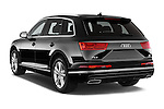 Car pictures of rear three quarter view of 2016 Audi Q7 S Line 5 Door Suv Angular Rear