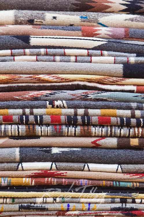 USA, NM, Gallup, Handmade Navajo Rugs for Sale