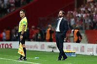 8th September 2021; PGE National Stadium, Warsaw, Poland: FIFA World Cup 2022 Football qualification, Poland versus England;  GARETH SOUTHGATE England coach
