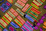 Multicoloured cloth drying by Azim Khan Ronnie