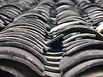 Roof tiles, China