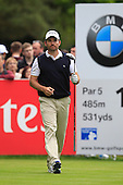 Ignacio GARRIDO (ESP) during round 3 of the 2015 BMW PGA Championship over the West Course at Wentworth, Virgina Water, London. 23/05/2015<br /> Picture Fran Caffrey, www.golffile.ie: