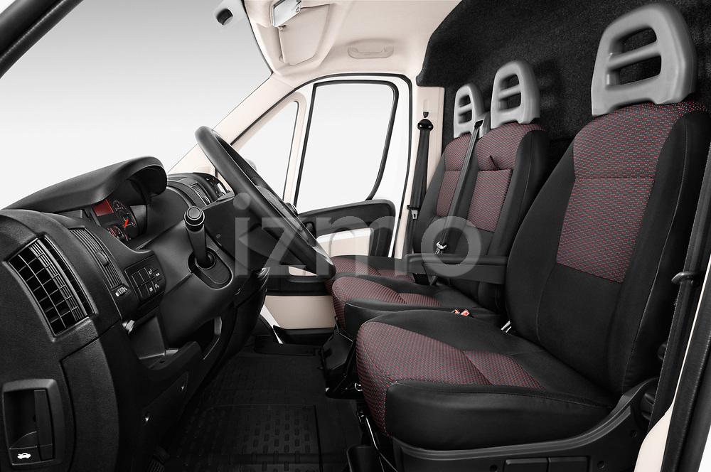 Front seat view of a 2018 Peugeot Boxer Pro 5 Door Cargo Van front seat car photos