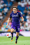 Federico Chiesa of ACF Fiorentina in action during the Santiago Bernabeu Trophy 2017 match between Real Madrid and ACF Fiorentina at the Santiago Bernabeu Stadium on 23 August 2017 in Madrid, Spain. Photo by Diego Gonzalez / Power Sport Images