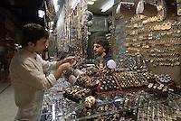 im großen Basar (Kapali Carsi) in Istanbul, Türkei