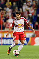 Harrison, NJ - Thursday Sept. 15, 2016: Salvatore Zizzo during a CONCACAF Champions League match between the New York Red Bulls and Alianza FC at Red Bull Arena.