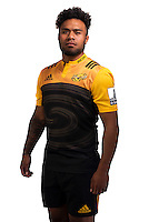 Willis Halaholo. Hurricanes Super Rugby official headshots at Rugby League Park, Wellington, New Zealand on Wednesday, 6 January 2016. Photo: Dave Lintott / lintottphoto.co.nz