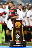 Chester, PA - Sunday December 10, 2017: Trophy Stanford University defeated Indiana University 1-0 in double overtime during the NCAA 2017 Men's College Cup championship match at Talen Energy Stadium.