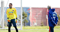 KAZAN - RUSIA, 15-06-2018: David Ospina arquero de Colombia, durante entrenamiento como parte de la Copa Mundo FIFA 2018 Rusia. /  David Ospina goalkeeper of Colombia during training session in Kazan  as part of the 2018 FIFA World Cup Russia. Photo: VizzorImage / Julian Medina / Cont