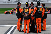 #19: Martin Truex Jr., Joe Gibbs Racing, Toyota Camry Bass Pro Shops/Tracker ATVs Toyota crew.