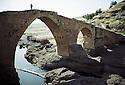 Irak 2002  Le vieux pont de Zakho,, Iraq 2002  The old bridge of Zakho