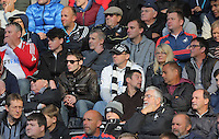 Swansea supporters during the Premier League match between Swansea City and Watford at The Liberty Stadium on October 22, 2016 in Swansea, Wales, UK.
