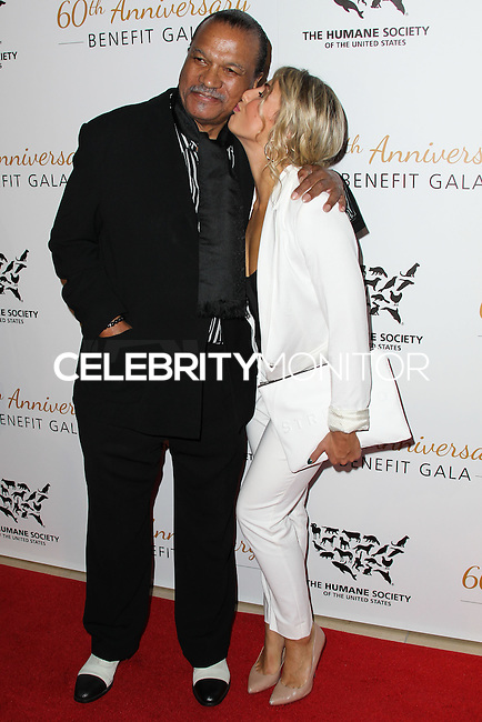 BEVERLY HILLS, CA, USA - MARCH 29: Billy Dee Williams, Emma Slater at The Humane Society Of The United States 60th Anniversary Benefit Gala held at the Beverly Hilton Hotel on March 29, 2014 in Beverly Hills, California, United States. (Photo by Xavier Collin/Celebrity Monitor)