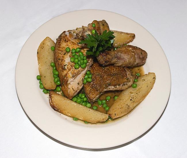 Chicken Dinner, Harry Caray's Restaurant, Chicago, Illinois