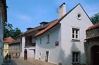 in der Novy Svet, Prag, Tschechien, Unesco-Weltkulturerbe