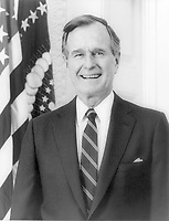 George Bush, 1989. <br /> Credit: Library of Congress