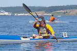Port Townsend, Rat Island Regatta,Don Kiesling, Allwave CX, kayakers, racing, Sound Rowers, Rat Island Rowing Club, Puget Sound, Olympic Peninsula, Washington State, water sports, rowing, kayaking, competition,