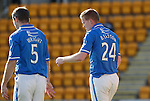 St Johnstone v Inverness Caledonian Thistle...05.10.13      SPFL<br /> Brian Easton with a cut head after clashing heads with Billy McKay<br /> Picture by Graeme Hart.<br /> Copyright Perthshire Picture Agency<br /> Tel: 01738 623350  Mobile: 07990 594431