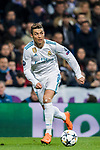 Cristiano Ronaldo of Real Madrid in action during the UEFA Champions League 2017-18 Round of 16 (1st leg) match between Real Madrid vs Paris Saint Germain at Estadio Santiago Bernabeu on February 14 2018 in Madrid, Spain. Photo by Diego Souto / Power Sport Images