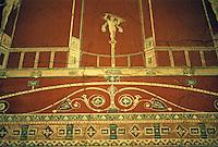 Italy: Herculaneum--Wall Painting (Nat. Mus.) Photo '83.