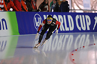 SPEEDSKATING: ERFURT: 19-01-2018, ISU World Cup, 500m Ladies B Division, Alexandra Ianculescu (ROU), photo: Martin de Jong