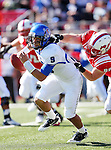 Southern Methodist Mustangs wide receiver ARRIUS HOLLEMAN (1) in action during the game between the Memphis Tigers and the Southern Methodist Mustangs at the Gerald J. Ford Stadium in Dallas, Texas. Memphis defeats SMU 48 to 3...