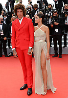 CANNES, FRANCE. July 12, 2021: Kambree Dalton & Julian Perretta at the gala premiere of Wes Anderson's The French Despatch at the 74th Festival de Cannes.<br /> Picture: Paul Smith / Featureflash