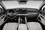 Stock photo of straight dashboard view of 2022 KIA Telluride SX-AWD 5 Door suv Dashboard