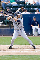 June 22, 2008: Justin Huber of the Portland Beavers at-bat against the Tacoma Rainiers during a Pacific Coast League game at Cheney Stadium in Tacoma, Washington.