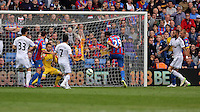 Pictured: Marouane Chamakh of Crystal Palace (29) scores <br />