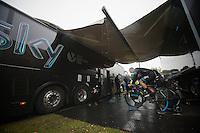 Bernie Eisel (AUT) warming up<br /> <br /> Tour of Britain<br /> stage 3: ITT Knowsley Safari Park (16.1km)