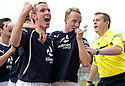16/10/2010   Copyright  Pic : James Stewart.sct_jsp016_stirling_v_dundee  .:: LEIGH GRIFFITHS CELEBRATES AFTER HE SCORES ::  .James Stewart Photography 19 Carronlea Drive, Falkirk. FK2 8DN      Vat Reg No. 607 6932 25.Telephone      : +44 (0)1324 570291 .Mobile              : +44 (0)7721 416997.E-mail  :  jim@jspa.co.uk.If you require further information then contact Jim Stewart on any of the numbers above.........