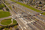 Aerial View of Gateway Transit Center, Portland, Oregon