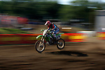 Michael Pugrab (870) competes on the course at the Unadilla Valley Sports Center in New Berlin, New York on July 16, 2006, during the AMA Toyota Motocross Championship.