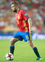 Spain's Jordi Alba during FIFA World Cup 2018 Qualifying Round match. September 2,2017.(ALTERPHOTOS/Acero)