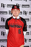 Timothy Wilson (16) of Center Hill High School in Olive Branch, Mississippi during the Baseball Factory All-America Pre-Season Tournament, powered by Under Armour, on January 12, 2018 at Sloan Park Complex in Mesa, Arizona.  (Mike Janes/Four Seam Images)