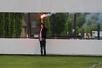 Club Brugge Dames - Telstar Ijmuiden : Bengaals Vuur<br /> foto Dirk Vuylsteke / nikonpro.be