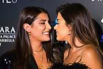 Alba Paul (l) and Aida Domenech 'Dulceida' kiss during Photocall previous to Starlite Gala 2019. August 11, 2019. (ALTERPHOTOS/Francis González)