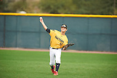 Ryan Wiese (12) of Juanita HS High School in Kirkland, Washington during the Under Armour All-American Pre-Season Tournament presented by Baseball Factory on January 15, 2017 at Sloan Park in Mesa, Arizona.  (Zac Lucy/Mike Janes Photography)